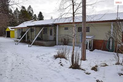 Bonners Ferry Single Family Home For Sale: 968 Roosevelt Rd