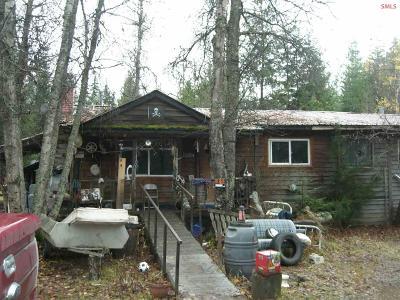 Bonner County Single Family Home For Sale: 1398 Sitting Bull