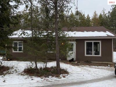 Moyie Springs ID Single Family Home For Sale: $125,000