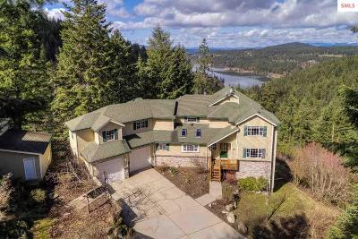 Coeur D'alene Single Family Home For Sale: 1813 E Winding Trail Ln
