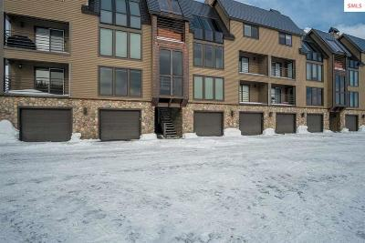Bonner County Condo/Townhouse For Sale: 58 Icicle Ct #301