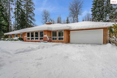 Sandpoint Single Family Home For Sale: 178 Weston Rd.