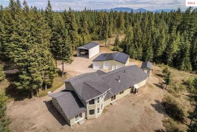 Spirit Lake Single Family Home For Sale: 16444 W Coeur D'alene