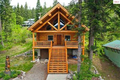 Bonner County, Boundary County, Kootenai County Single Family Home For Sale: 17571 E North Shore Lane