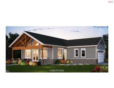 Bonner County Single Family Home For Sale: Tbb Otts Basin Rd