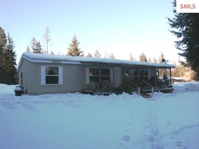 Bonners Ferry ID Single Family Home For Sale: $167,000