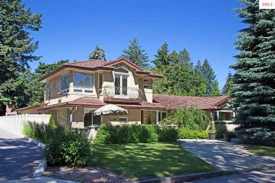 Coeur D'alene Single Family Home For Sale: 201 N Military Dr