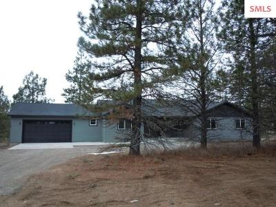 Bonner County Single Family Home For Sale: 284 Pend O Reille