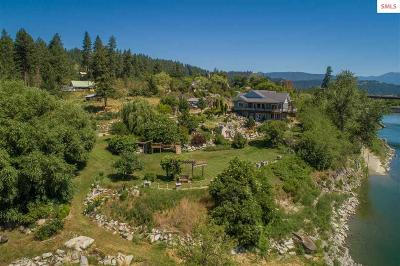 Bonners Ferry Single Family Home For Sale: 6528 North River Drive