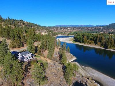 Bonner County, Boundary County, Kootenai County Single Family Home For Sale: 4146 District Two Rd