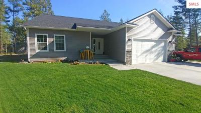 Moyie Springs Single Family Home For Sale: 19 Jaden Ct