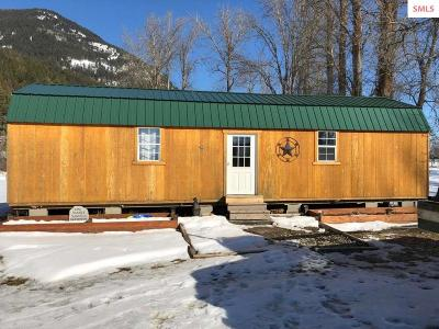 Bonners Ferry ID Single Family Home For Sale: $259,000
