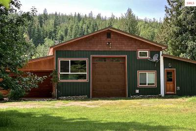 Clark Fork ID Single Family Home For Sale: $469,000