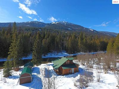 Boundary County Single Family Home For Sale: 5908 Moyie River Rd