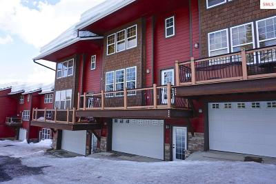 Sandpoint Condo/Townhouse For Sale: 38 Slalom Rd #5