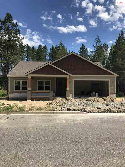 Sandpoint Single Family Home For Sale: 1015 Northview