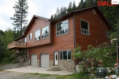 Sandpoint Single Family Home For Sale: 674 Granite Ridge