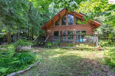 Sandpoint Single Family Home For Sale: 120 E Granite Ridge Rd