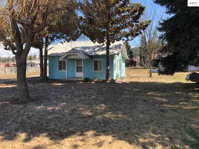 Bonners Ferry Single Family Home For Sale: 6219 Main St