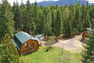 Clark Fork ID Single Family Home For Sale: $449,900