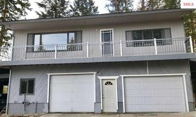 Sandpoint Single Family Home For Sale: 286 Hamilton Hill