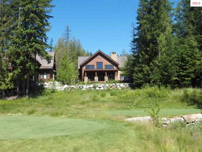 Sandpoint ID Single Family Home For Sale: $952,000