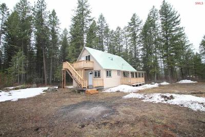 Priest River Single Family Home For Sale: 445 Bandy Rd