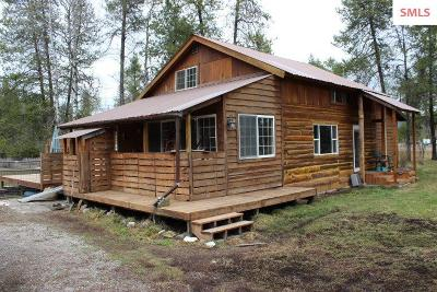 Priest River Single Family Home For Sale: 384 Bluebird Lane