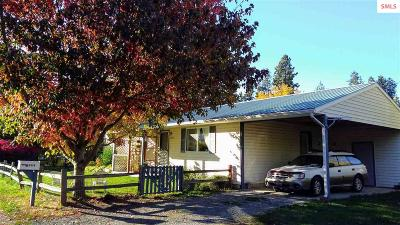 Bonners Ferry Single Family Home For Sale: 6649 Pierce Street