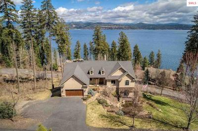 Coeur D'alene Single Family Home For Sale: 4380 S Isaac Stevens Rd