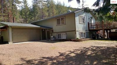 Clark Fork ID Single Family Home For Sale: $299,000