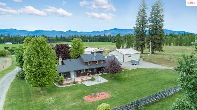 Bonners Ferry Single Family Home For Sale: 1905 Paradise Valley Road