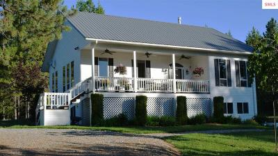 Bonner County Single Family Home For Sale: 626 Morgan Hill Rd