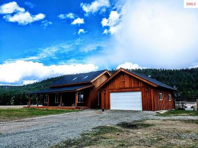 Bonners Ferry ID Single Family Home For Sale: $799,000