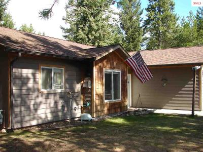 Moyie Springs ID Single Family Home For Sale: $169,000