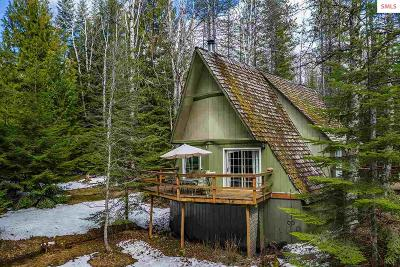 Sandpoint Single Family Home For Sale: 3897 Upper Gold Creek Road