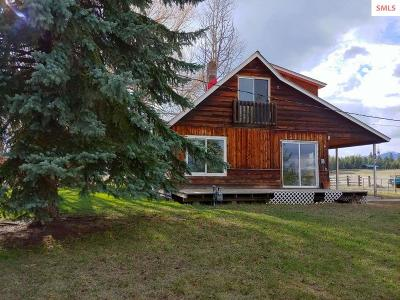 Bonners Ferry ID Single Family Home For Sale: $120,000
