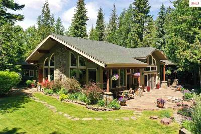 Sandpoint ID Single Family Home For Sale: $995,000