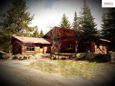Moyie Springs ID Single Family Home For Sale: $385,900