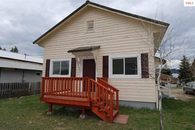 Bonner County Single Family Home For Sale: 308 E 5th St