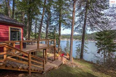 Bonner County, Boundary County, Kootenai County Single Family Home For Sale: 439 W Garfield Bay