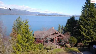 Bonner County, Boundary County, Kootenai County Single Family Home For Sale: 3997 Bottle Bay Rd