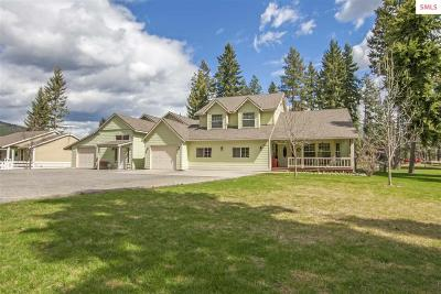 Bonner County, Boundary County, Kootenai County Single Family Home For Sale: 219 Zimmerman Rd