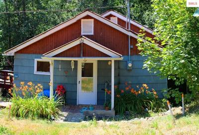 Bonner County, Boundary County, Kootenai County Single Family Home For Sale: 146 W Garfield Bay Rd