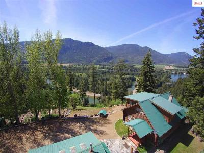Clark Fork ID Single Family Home For Sale: $379,900