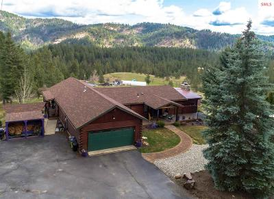 Coeur D'alene Single Family Home For Sale: 6581 E French Gulch Rd