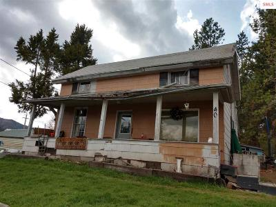 Priest River Single Family Home For Sale: 40 N Treat Street