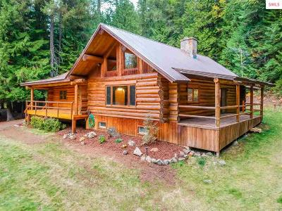 Sandpoint Single Family Home For Sale: 414 Gold Creek Lane