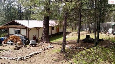 Clark Fork ID Single Family Home For Sale: $139,000