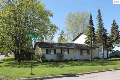 Sandpoint Single Family Home For Sale: 1205 Garden St.